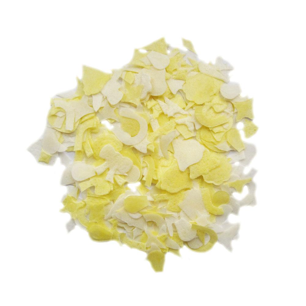 Wurfkonfetti aus Reispapier mit Hochzeitsmotiven