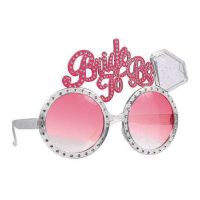 "Fun-Brille ""Bride to be"""