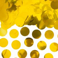 Goldfarbenes Deko-Konfetti,Deko-Konfetti in Gold - Verpackung