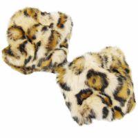 Fell-Pulswärmer - Leopard