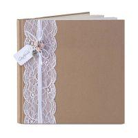 Hochzeits-Gästebuch im Vintage-Stil
