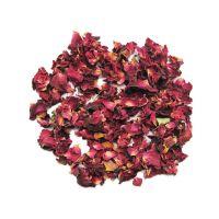 Getrocknete Rosenblüten