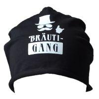 """Beanie """"BräutiGANG"""" - Schwarz"""