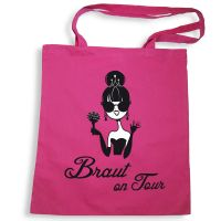 "Tote Bag ""Braut on Tour"""