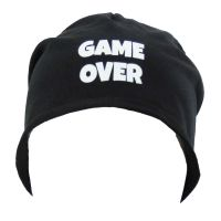 "Beanie ""Game Over"" - Schwarz"