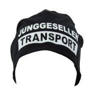 """Beanie """"Junggesellen Transport"""""""