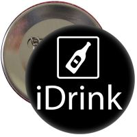 "Button ""iDrink"""