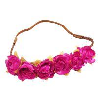 Blumen-Haarband - Pink