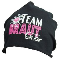 "Baumwoll-Beanie ""Team Braut on Tour"""