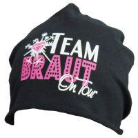 Schwarze Team Braut on Tour-Mütze als JGA-Outfit