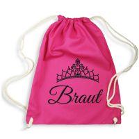 Pinkfarbener Braut-Rucksack für den Junggesellinnenabschied