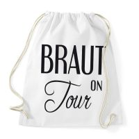 "Rucksack ""Braut on Tour"" – Plain"