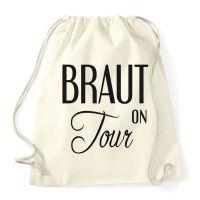 """Rucksack """"Braut on Tour"""" - Vintage"""