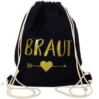 """Rucksack """"Braut"""" - Pfeil - Schwarz"""