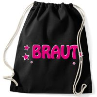 """Rucksack """"Braut"""" mit Sternen"""