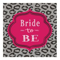 "Servietten ""Bride to be"""
