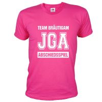 "T-Shirt ""Abschiedsspiel"" - Football - Pink"