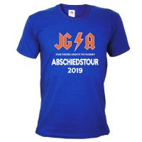 "T-Shirt ""Abschiedstour"" - Hard Rock - Blau"
