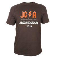"""T-Shirt """"Abschiedstour"""" - Hard Rock - Braun"""