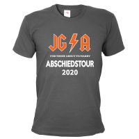 "T-Shirt ""Abschiedstour"" - Hard Rock - Grau"