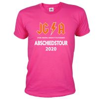 "T-Shirt ""Abschiedstour"" - Hard Rock - Pink"