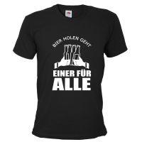 """T-Shirt """"Einer für alle"""" - Schwarz"""