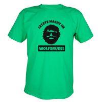 """T-Shirt """"Wolfsrudel"""" - Alan - Grün"""