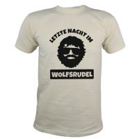 "T-Shirt ""Wolfsrudel"" - Alan - Naturfarben"