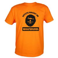 "T-Shirt ""Wolfsrudel"" - Alan - Orange"