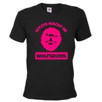 "T-Shirt ""Wolfsrudel"" - Alan - Schwarz"