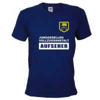 """T-Shirt """"JVA"""" - Aufseher"""