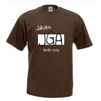 "T-Shirt ""JGA"" - Name - Gruppe"