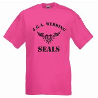 "T-Shirt ""Wedding Seals"" - Pink"