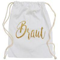"""Rucksack """"Braut"""" - Glamour - Weiß"""