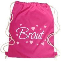 "Rucksack ""Braut"" - Classic - Pink"