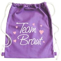 "Rucksack ""Team Braut"" - Classic - Lila"