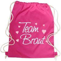 "Rucksack ""Team Braut"" - Classic - Pink"