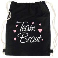 """Rucksack """"Team Braut"""" - Classic - Schwarz"""