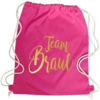 "Rucksack ""Team Braut"" - Glamour - Pink"