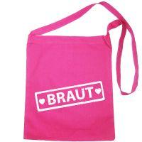 """Umhängetasche mit """"Braut""""-Label"""