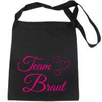 """Tasche """"Team Braut"""" für den Junggesellinnenabschied"""
