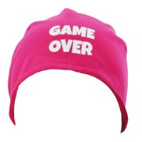 "Beanie ""Game Over"" - Pink"