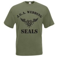 "T-Shirt ""Wedding Seals"" - Army"