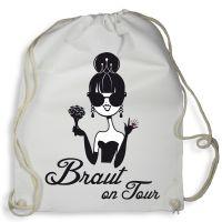 """Rucksack """"Braut on Tour"""" - Weiß"""