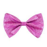 Glitter-Fliege - Pink