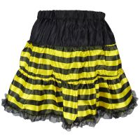 Bienenkostüm-Rock in Damen-Größe für Fasching