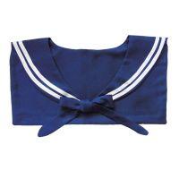 Blauer Matrosenkragen - Kostüm-Halstuch für Karneval