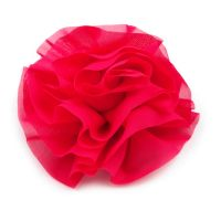 JGA-Haarschmuck mit pinkfarbener Blume