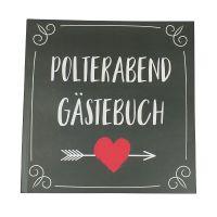 """Polterabend-Gästebuch """"Herz & Pfeil"""""""