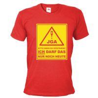 """T-Shirt """"Verständnis"""" - Bräutigam - Rot"""